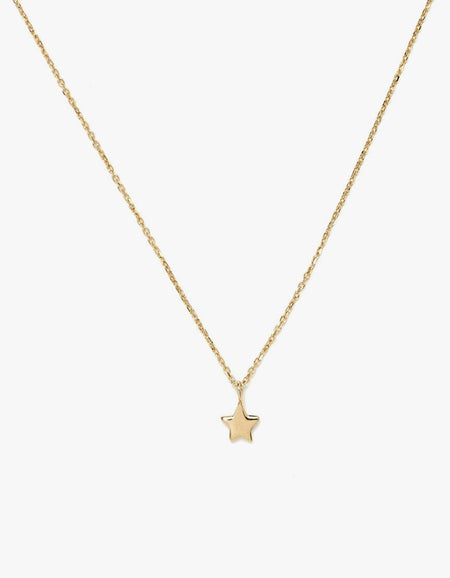 Star Necklace - Gold Plated