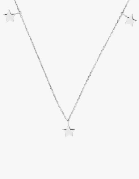 Star Bright Necklace - Silver