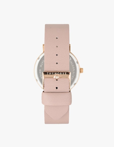 The Original Watch - Polished Rose Gold/White/Blush