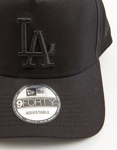 Los Angeles Dodgers 9FORTY A Frame Snapback - Black Tiger Camo
