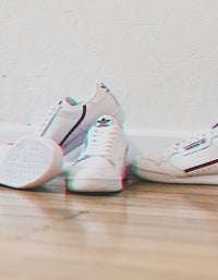 Womens Continental 80 - Ftwwht/Scarle/Conavy
