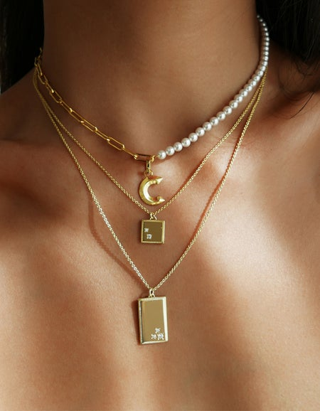 Rogan Necklace - Gold Plated