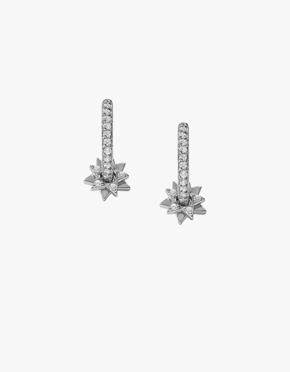 Sly Earrings - Silver Plated