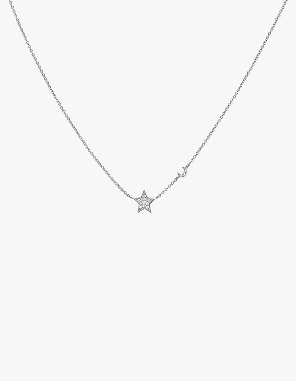 Trev Necklace - Silver plated
