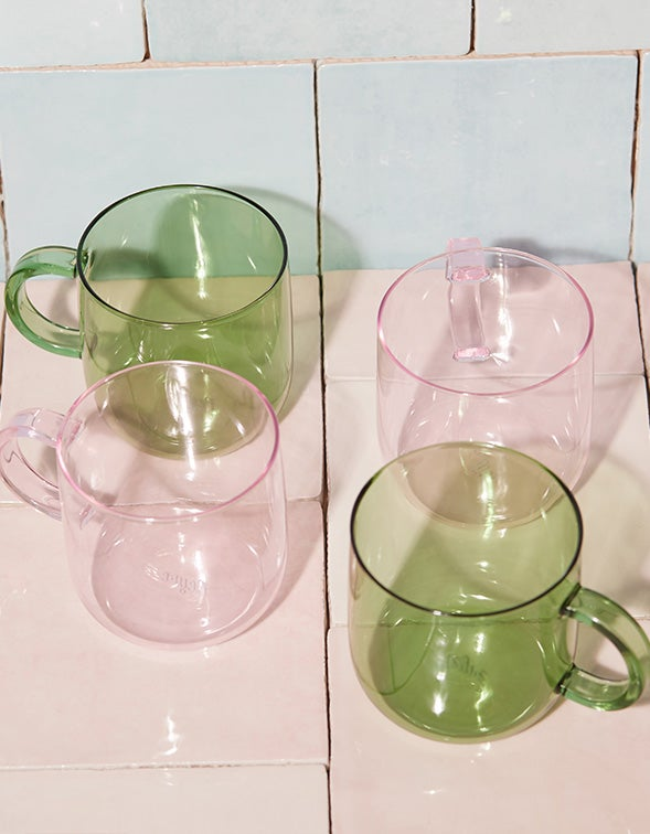 Coro Cup Set Of 2 - Green