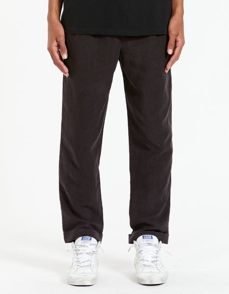 Grove Trouser - Washed Black
