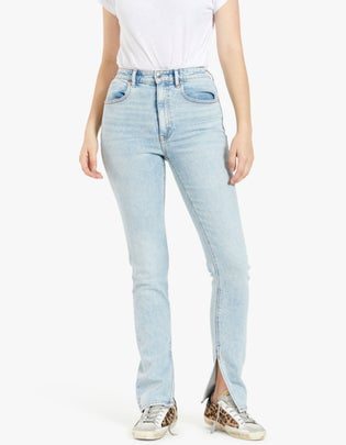 Stovepipe Dipped Back Jean