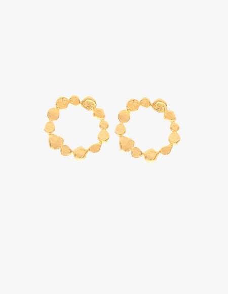Daphnie Earrings - 24K Gold Plated