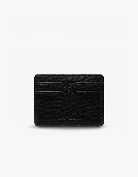 Together For Now Wallet - Black Bubble