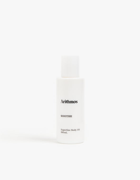 Soothe Superfine Rose and Geranium Body Oil - White