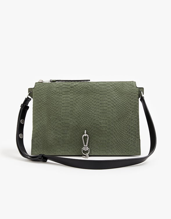 Sheringham Shoulder Bag - Sage Green
