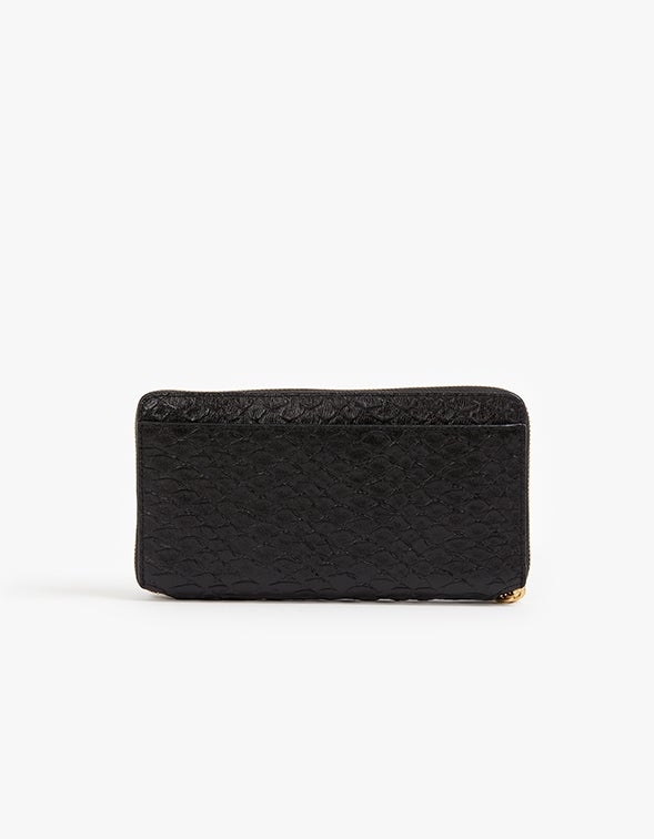Fetch Phone Wrist Wallet - Black Python
