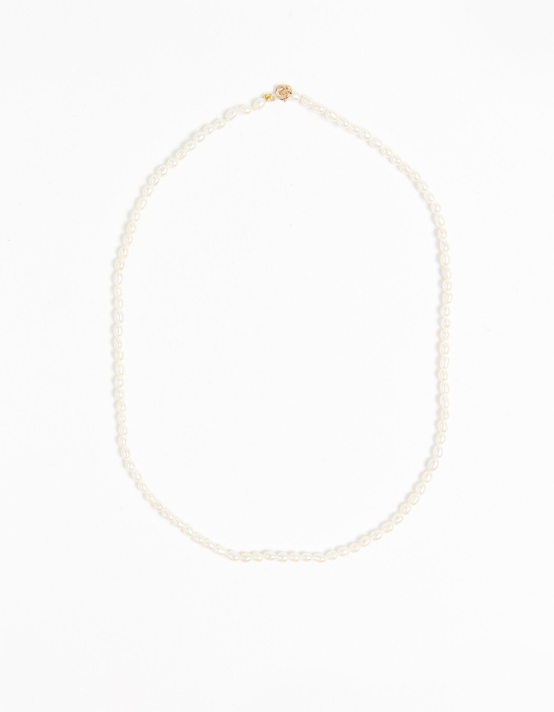 Dream Pearl Necklace - 9K Yellow Gold