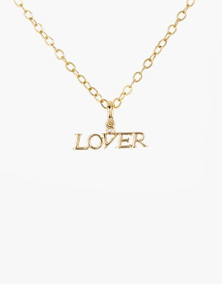 Lover Pendant Necklace