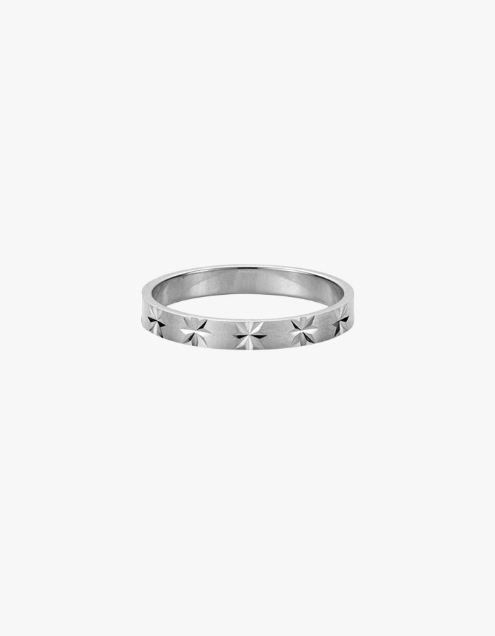 Star Crossed Ring - Sterling Silver