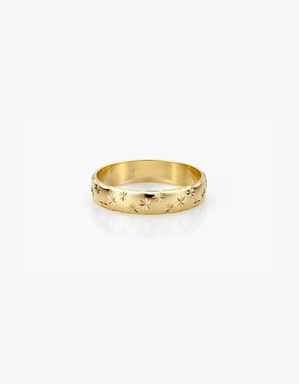 Forever Ring - 9K Yellow Gold