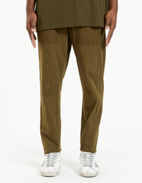 Mens Utility Jersey Pant - Dark Army