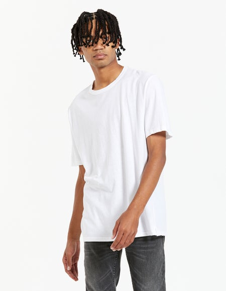 Mens Slim Fit Tshirt - White