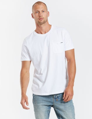 Mens Branded Pocket T Shirt