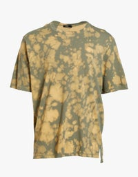Mens Motley Dye Slouch S/S Tshirt - Imperial Army