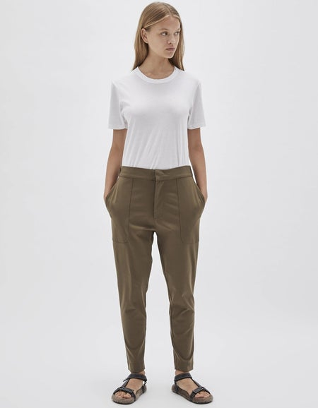 Womens Twill Utility Pant - Army