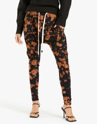 Womens Motley Slouch Jersey Pant - Bleach Motley