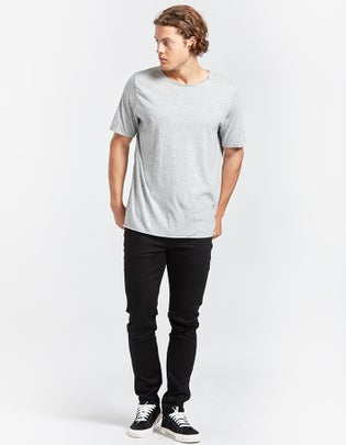 Mens Original Neck T Shirt With Tail