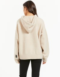 Bea Knit Hoodie - Fawn