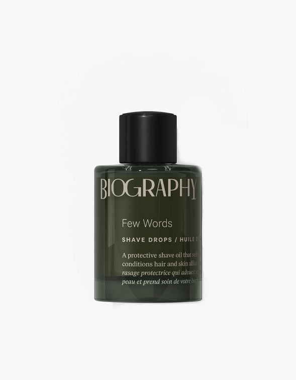 Few Words Shave Drops 30ml - Clear