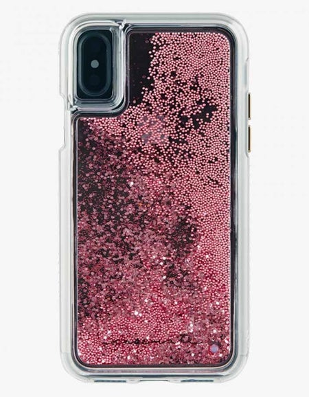 Waterfall iPhone X / XS Case - Rose Gold