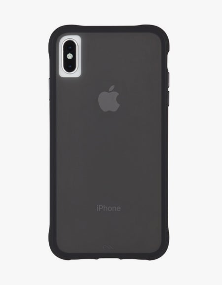 Tough iPhone X / XS Case - Matte Black