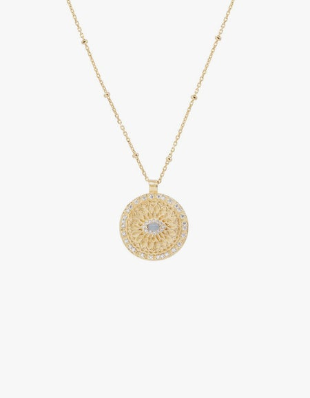 Blessed Eye Necklace - Gold Plated