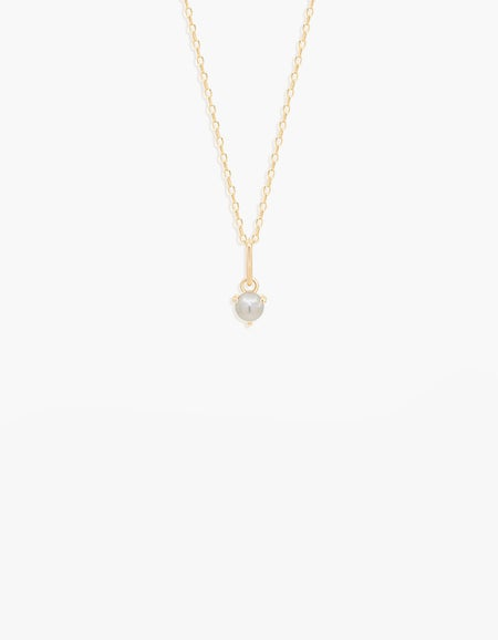 Freshwater Pearl Necklace - 14k Gold