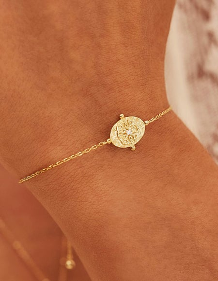 Path Of Life Bracelet - Gold Plated