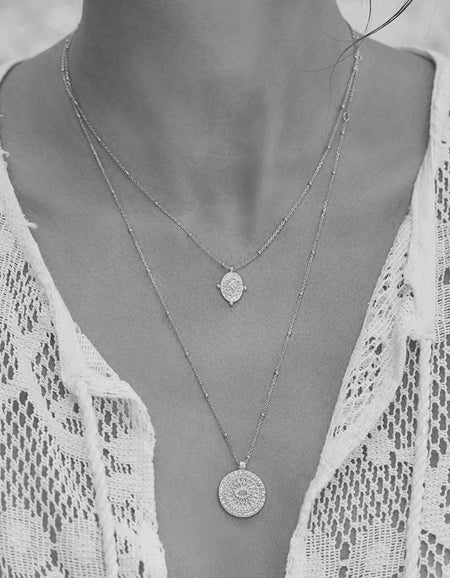 Path Of Life Necklace - Silver