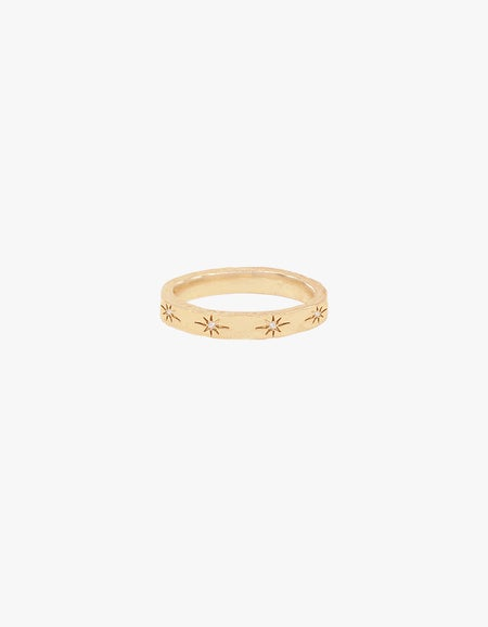 Stardust Ring - Gold Plated