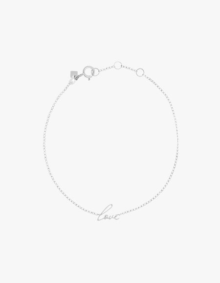 All You Need Bracelet - Sterling Silver