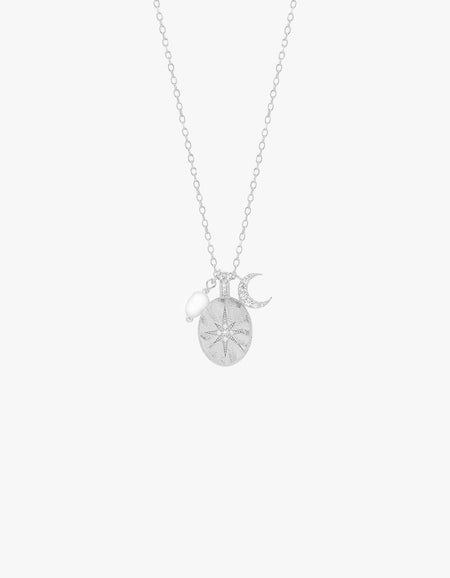 Dream Weaver Necklace - Sterling Silver