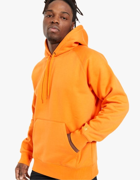 Hooded Chase Sweat - Cypress/Gold