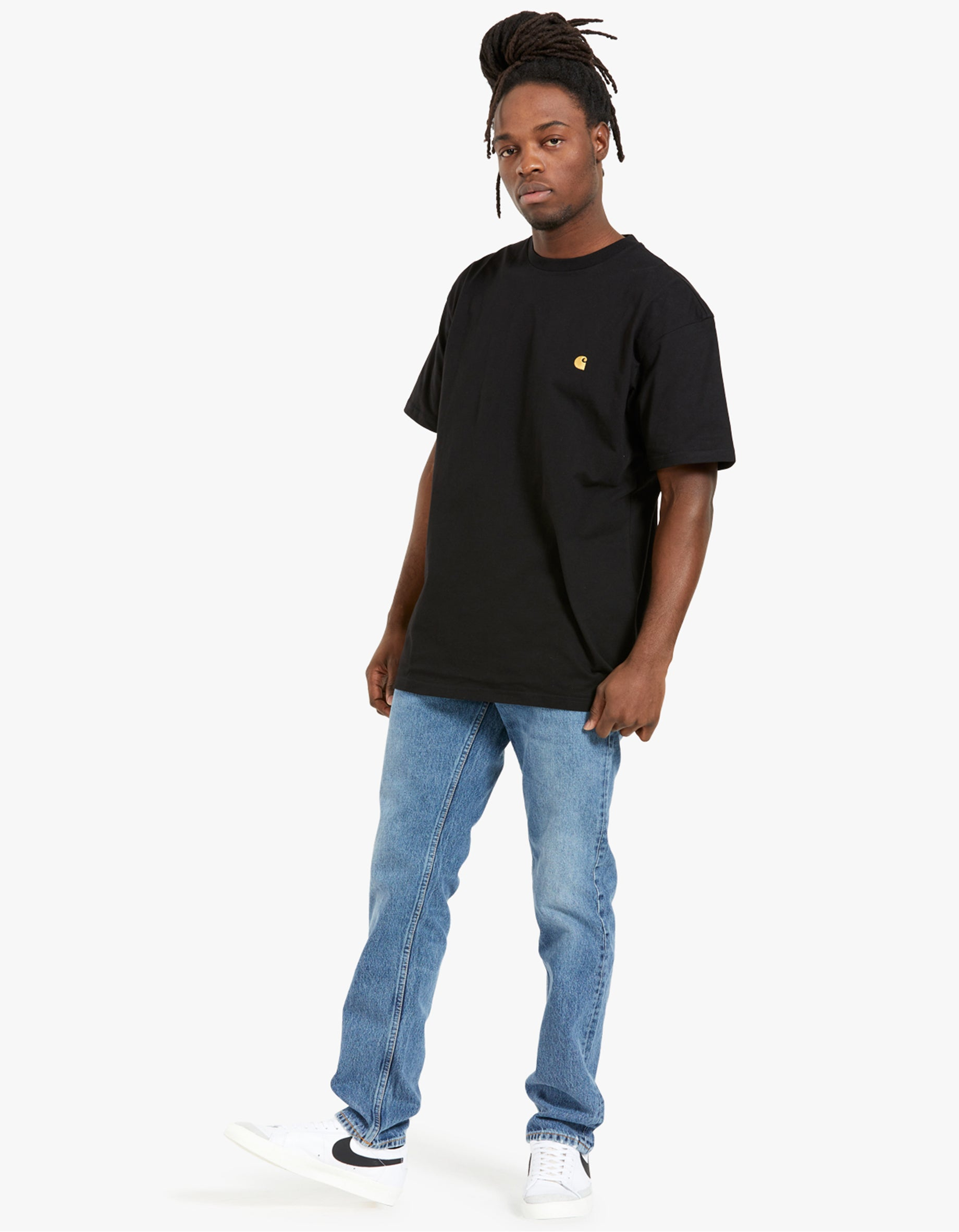 S/S Chase T-Shirt - Black/Gold