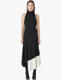 Rory Dress - Black With Ivory