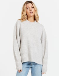 Murphey Knit Top - Muave Marle