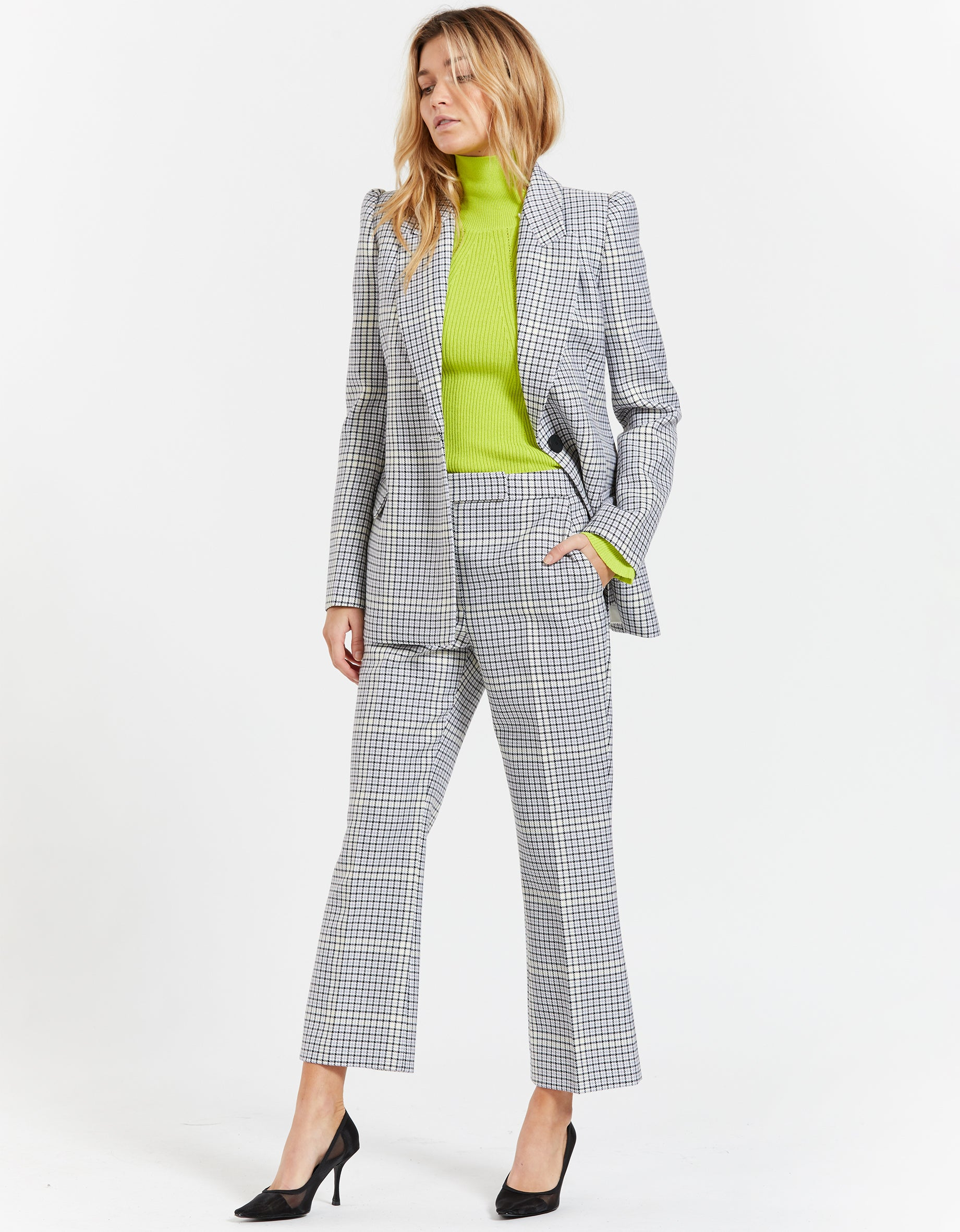 Duvall Pant - Snowden Check