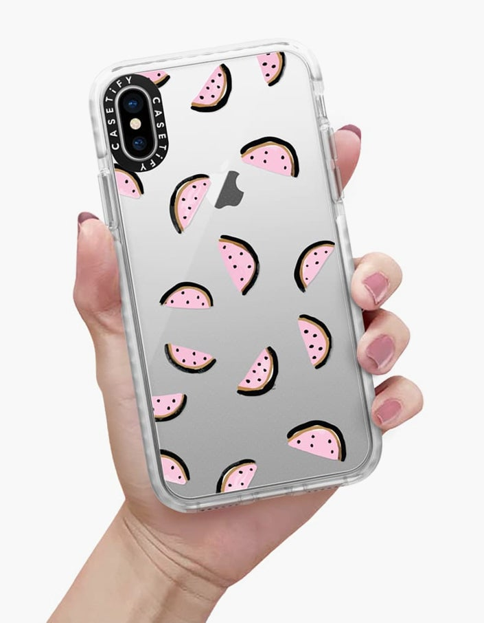 Nice Melons iPhone XS Impact Case - Print