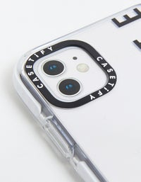 Casetify x Superette iPhone 11/XR Logo Case - Clear