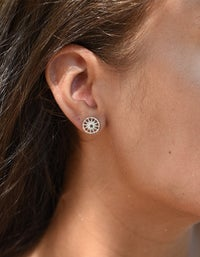 Child of The Sun Earrings - Silver