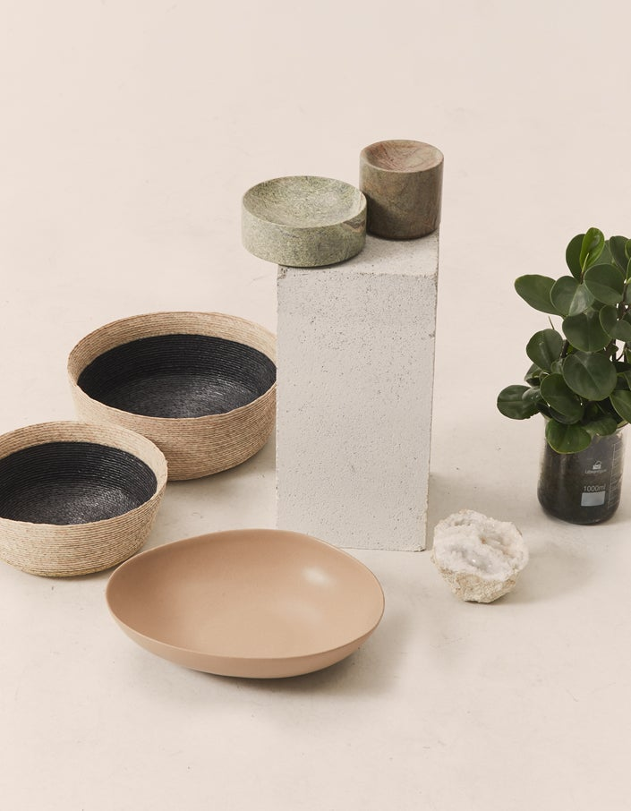 Grove Marble Dish - Forest Green