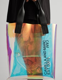 Holographic Denver Tote - Holographic