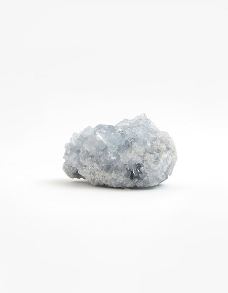 Celestite Cluster Small - Clear Blue