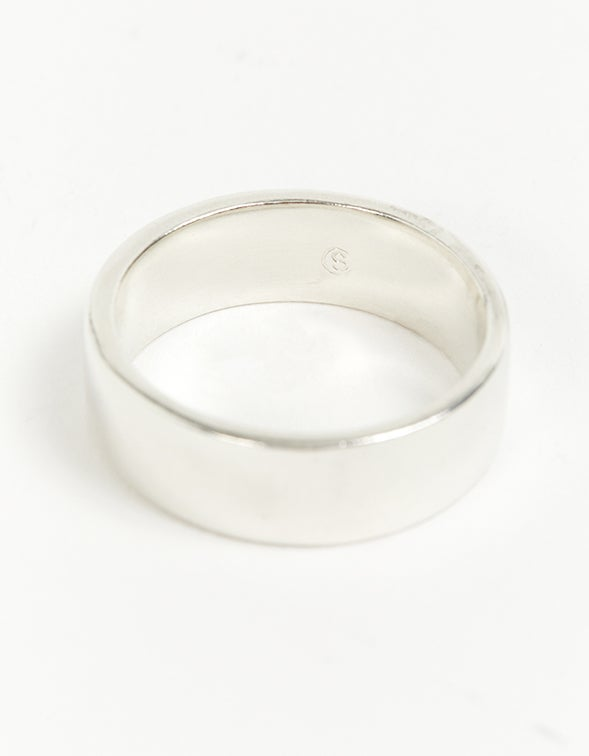 Type 006 Flat Ring - Sterling Silver